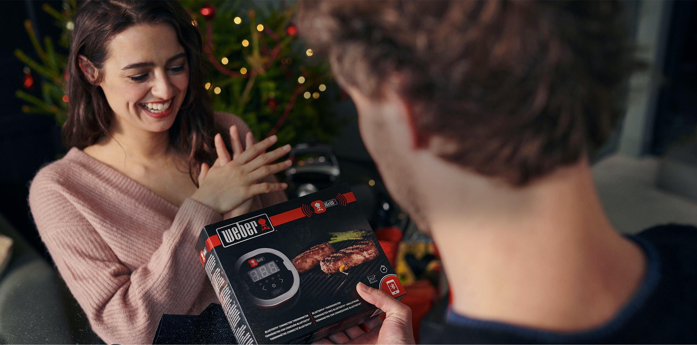 Avec Weber, c'est Noël avant l'heure !