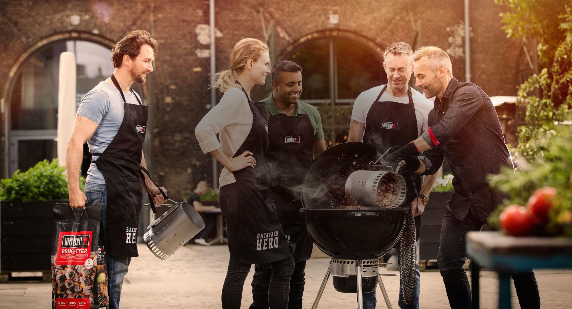 Kom på grillkursus i hele Danmark
