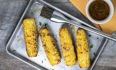 Gegrillte Maiskolben Mit Chili Butter