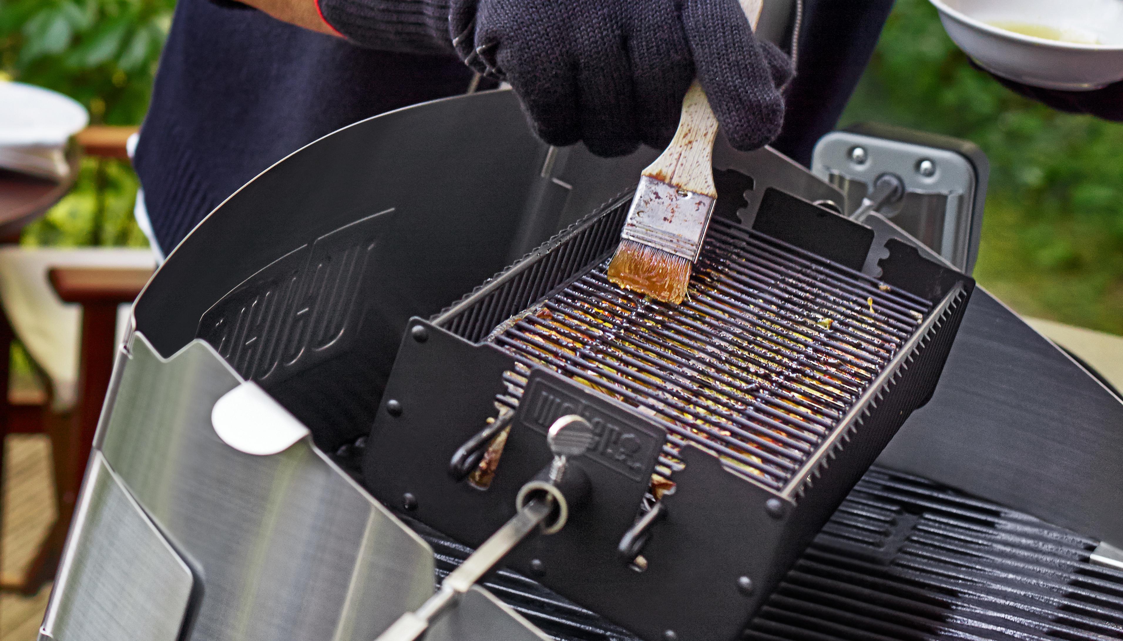 Weber Elektrogrill Edelstahl Rost : Edelstahl grillrost cm für kugelgrills weber napoleon etc