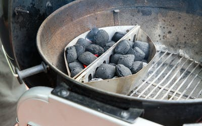 Weber Briquettes In Charcoal Configurations