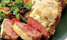 Horseradish Crusted Strip Steak