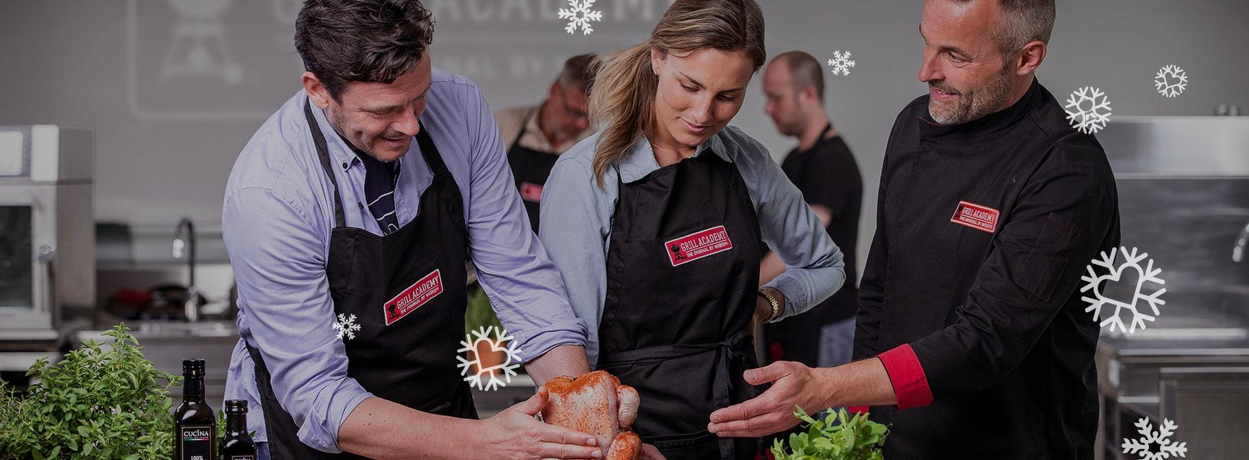 Nú €30 korting<BR>op een Grill Academy<BR>BBQ workshop!
