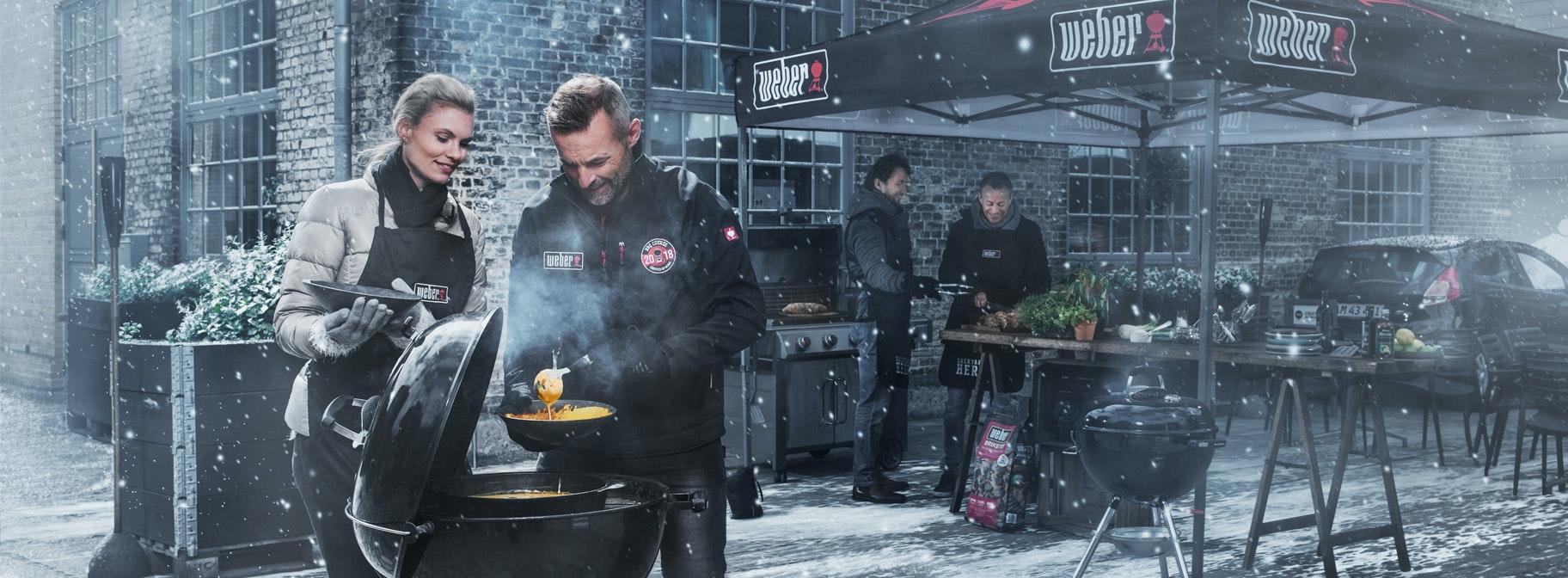 Gewinne eine Weber Grill-Experience!