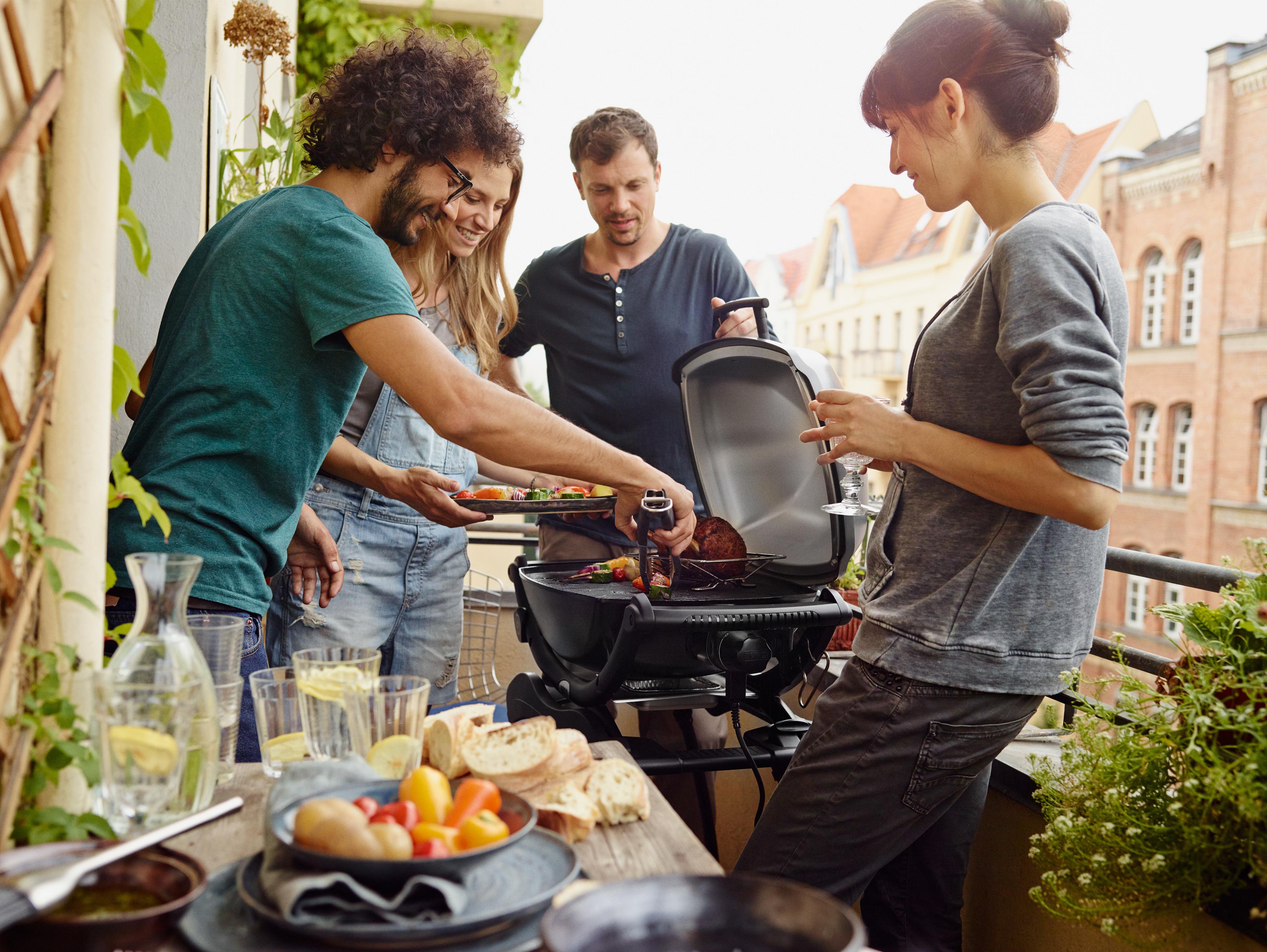 Weber Elektrogrill Einschalten : Grillen mit elektrogrill entspannter grillspaß für balkon und wohnung
