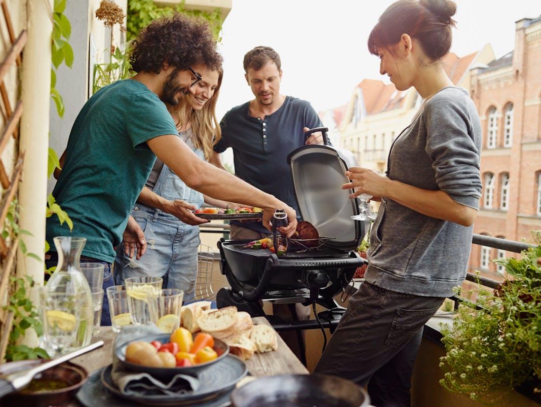 Weber Elektrogrill Wasser : Grillen mit elektrogrill: entspannter grillspaß für balkon und wohnung