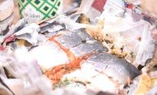 Newspaper Baked Salmon