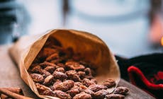Roasted Cinnamon Almonds Lapland Weber H2 A3745 Recipe V2
