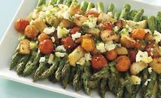 Salade Met Asperges Feta En Tomaten