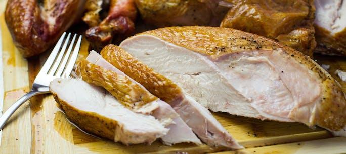 Sliced Turkey Breast 24