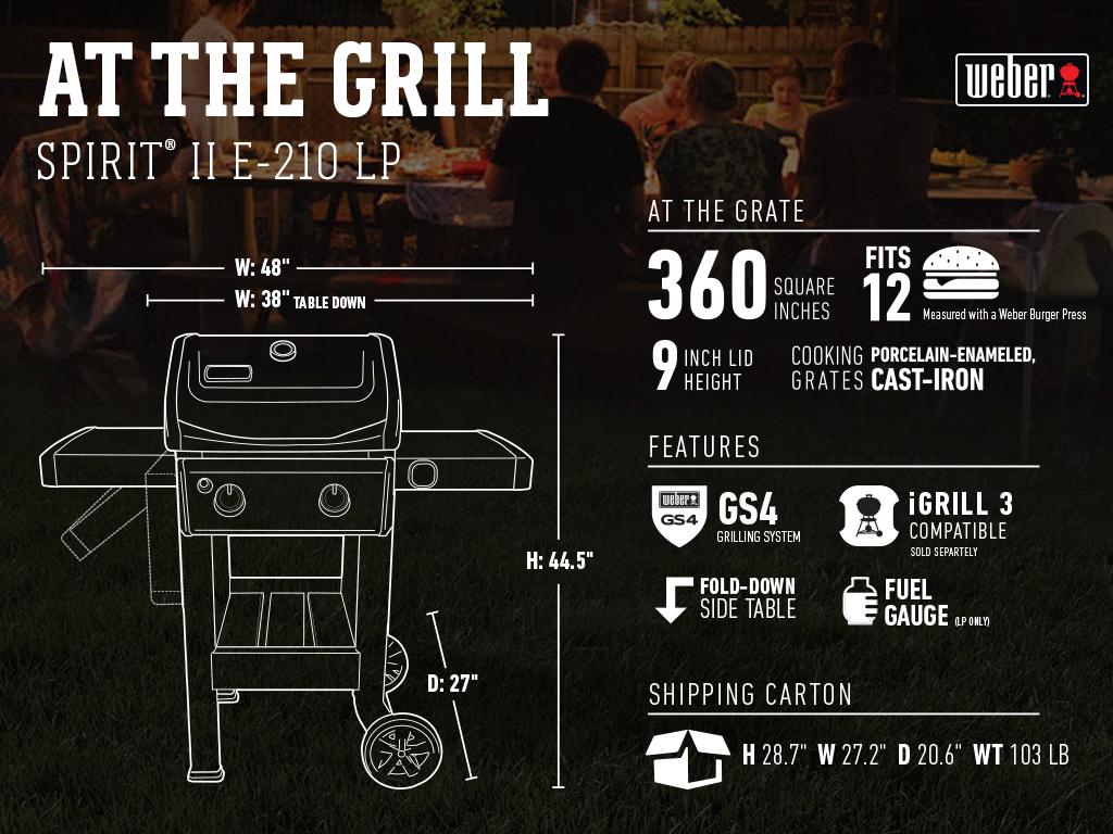 Spirit Ii At The Grill 2 B Lp 1024X768