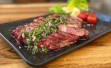 Steak Met Chimichurri 12