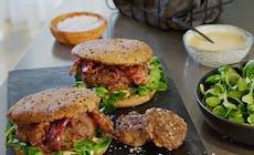 Bacon Cheese Burger Con Caprino Natale19