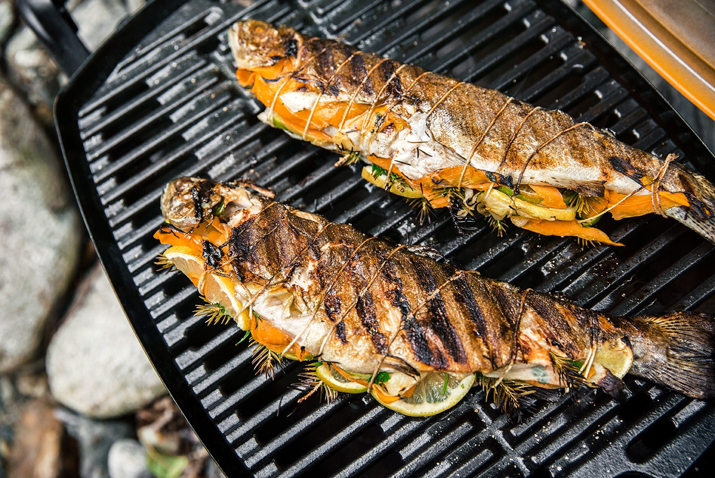 Weber Holzkohlegrill Fisch : Fisch und meeresfrüchte vom grill grill know how