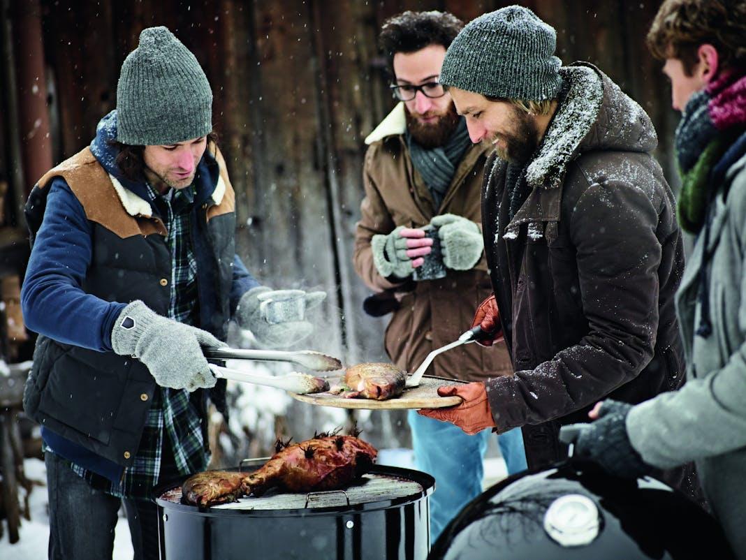 Weber Elektrogrill Lagerung : Grillen im winter: genuss vom rost bei wind und wetter inspiration