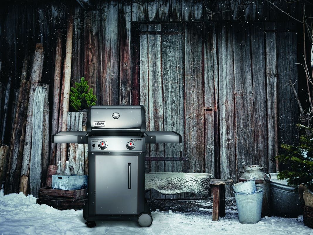 Weber Elektrogrill Wasser : Grill winterfest machen: das musst du beachten!