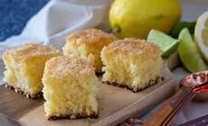 Zitronen Kokos Schnitten