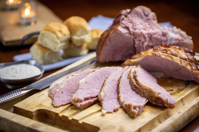 2018 12 Holidays Lang How To Grill A Ham With A Fan Favorite Recipe Blog Photo Pineapple Glazed Ham 14