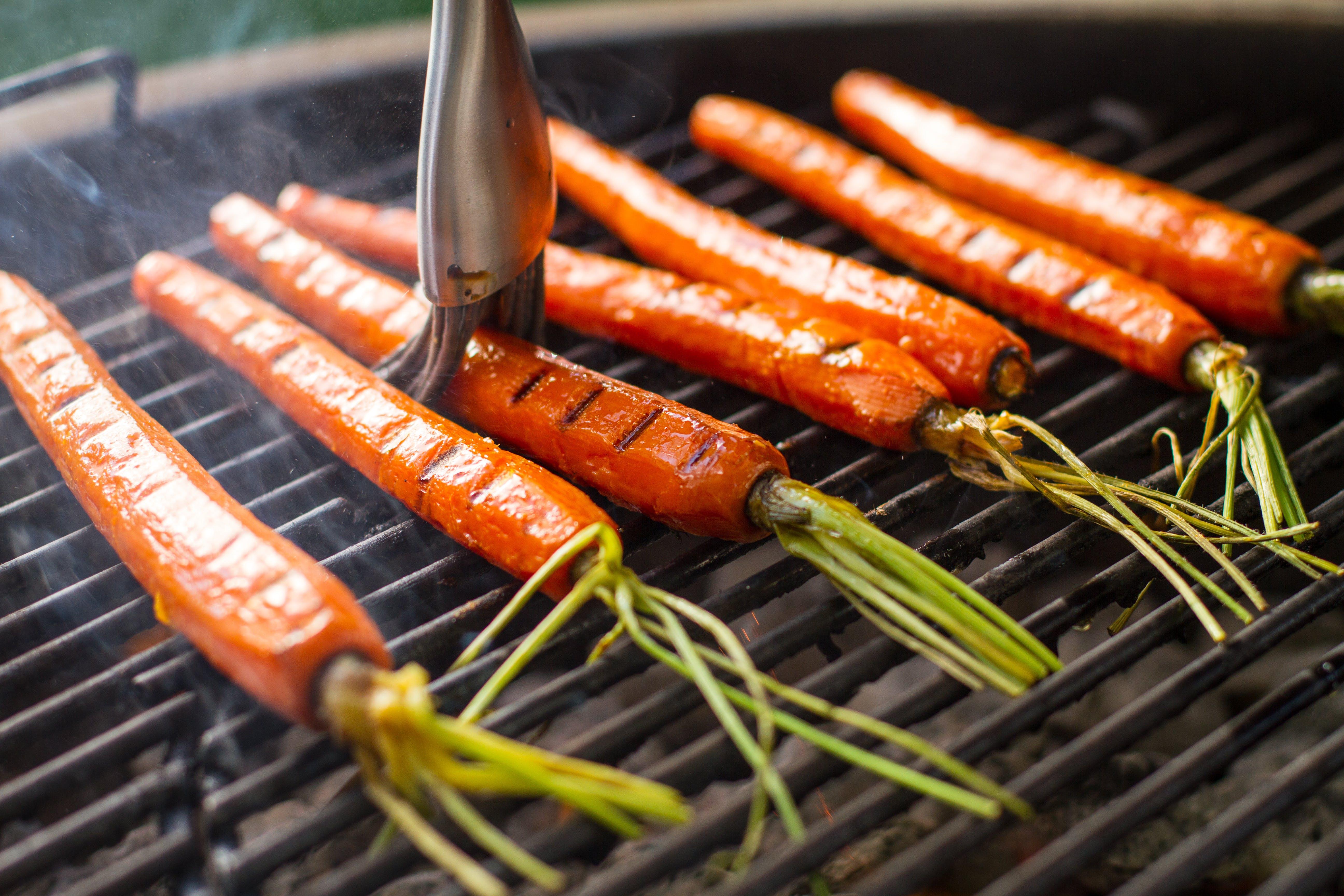 Basting Carrots 6