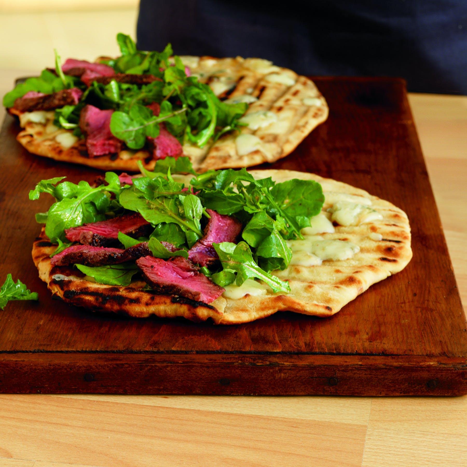 Steakand Gorgonzola Piadini 8