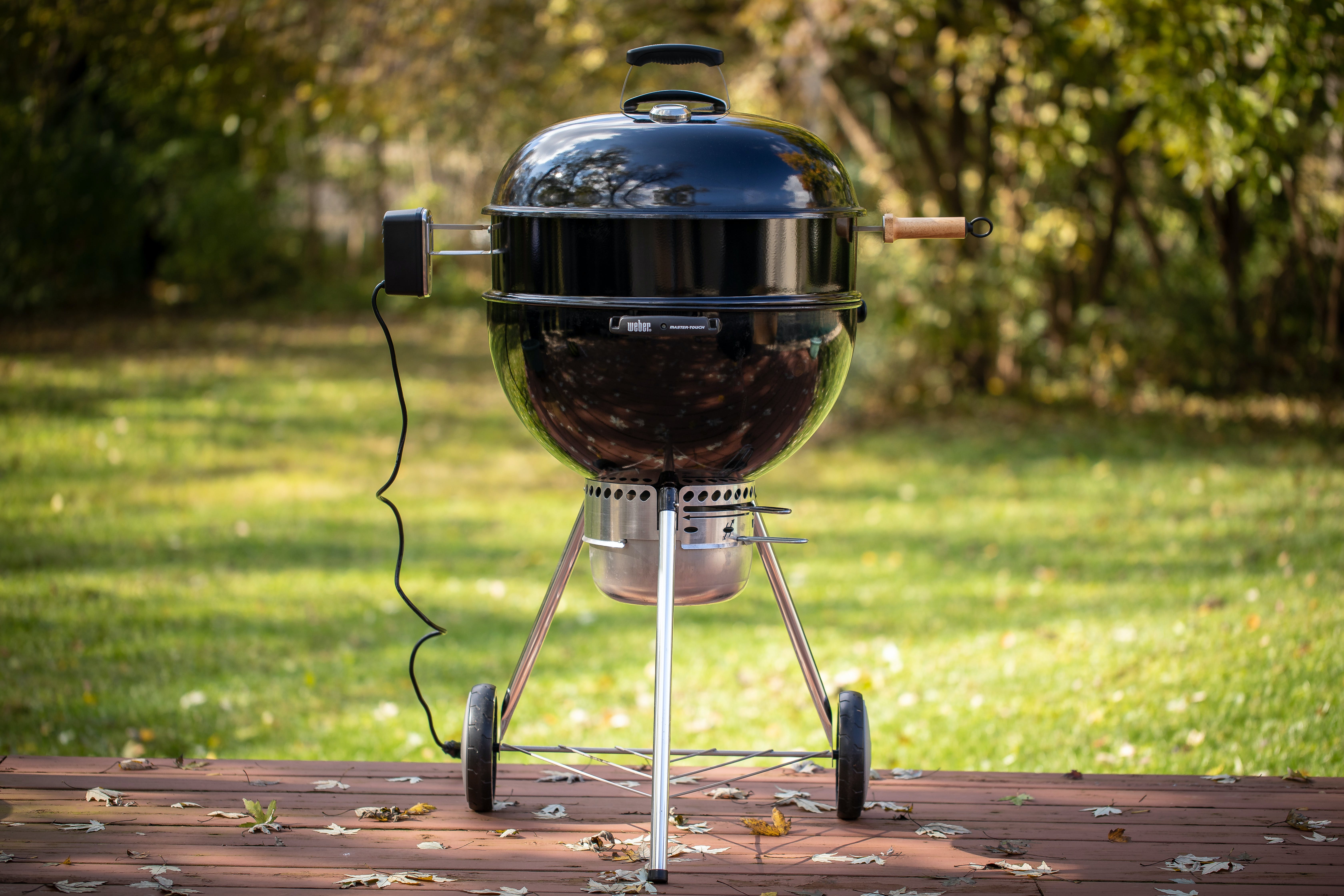Black Kettle With Rotisserie Ring 10