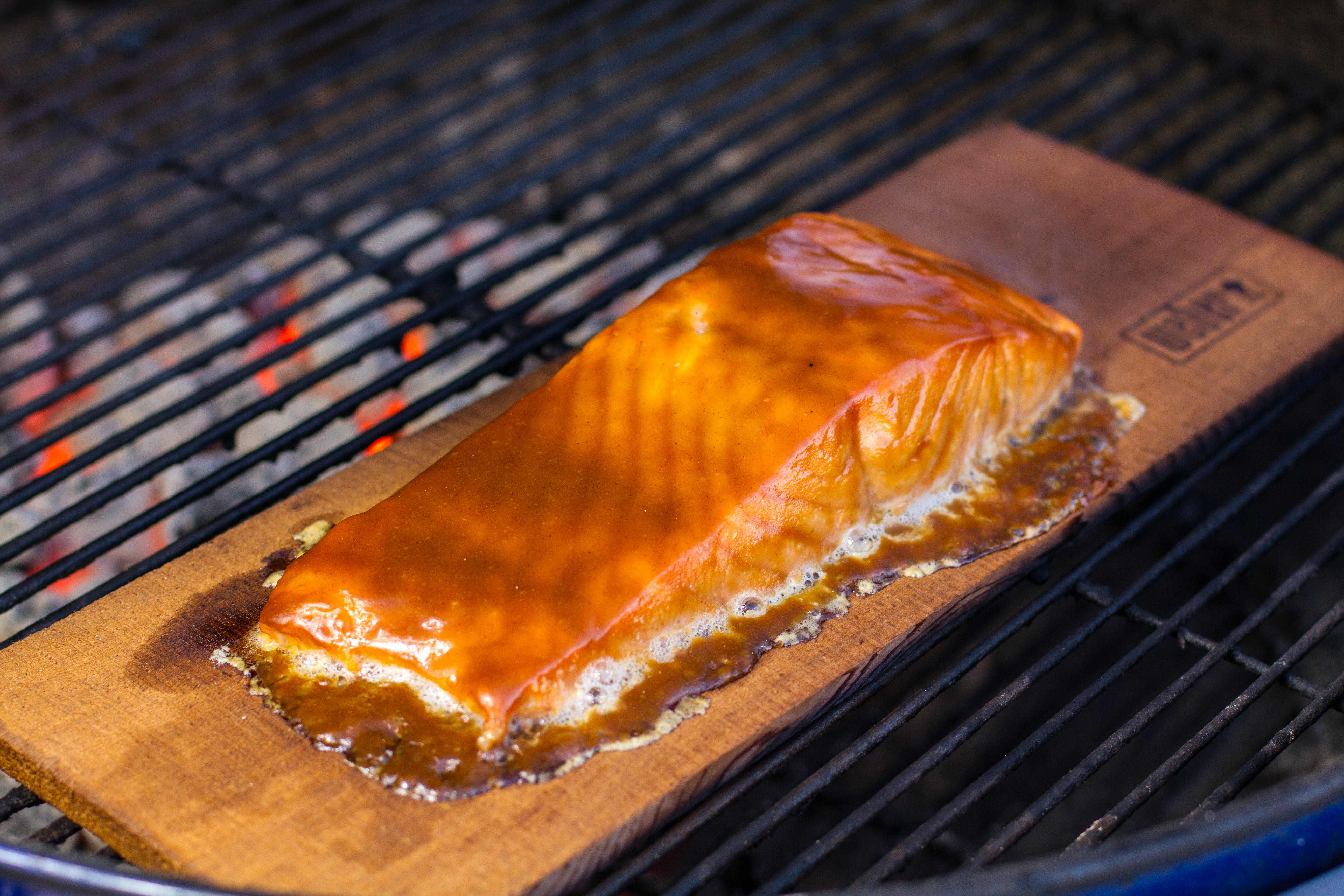 Planked Salmon 4