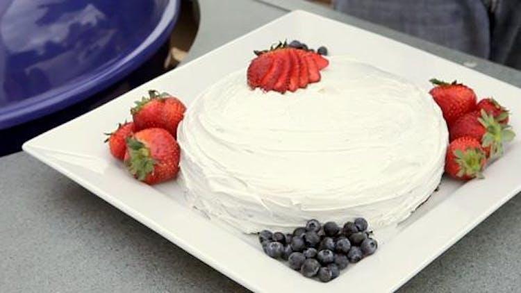 Weber Q Cake Recipes