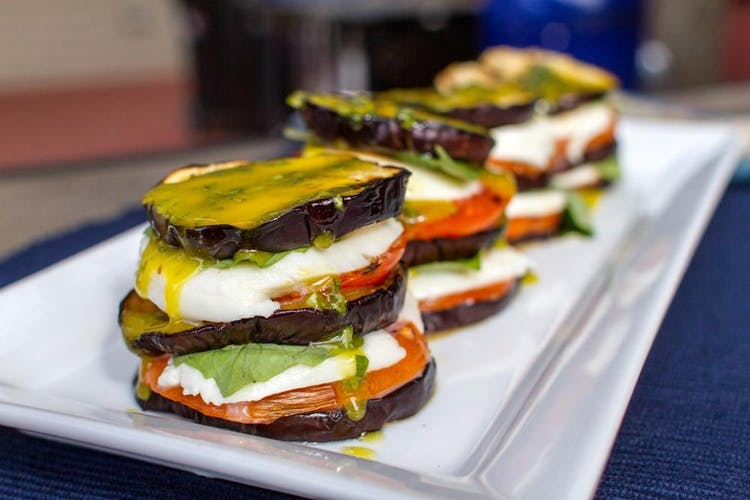 There S An Eggplant In My Caprese Grilling Inspiration