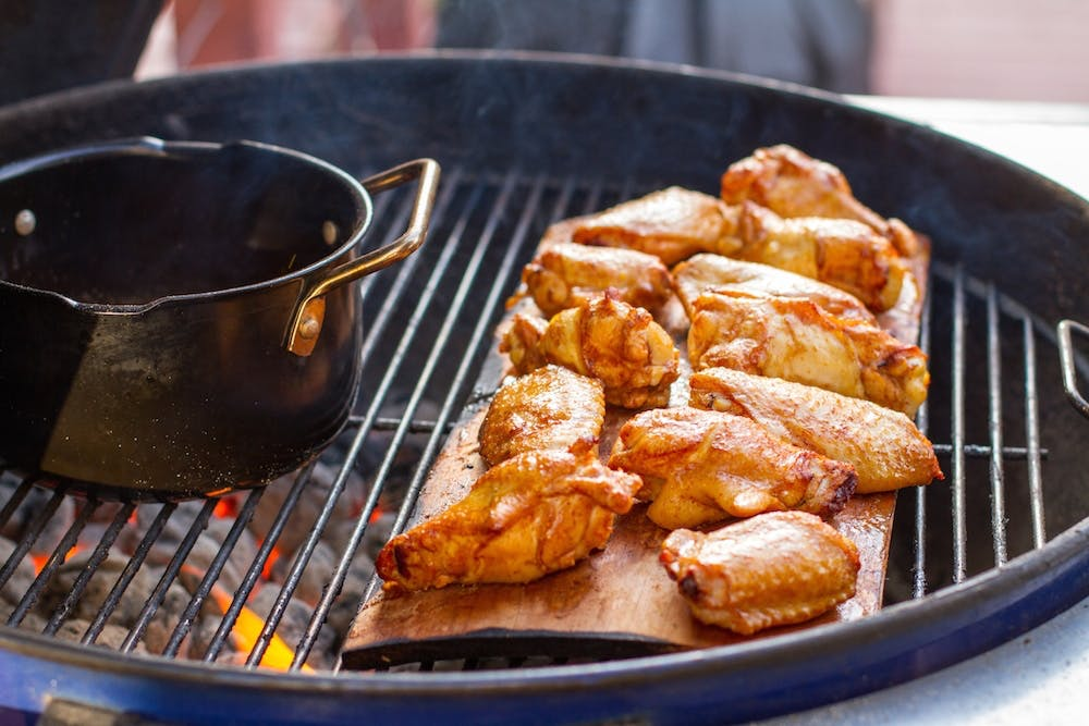 Cedar Planked Wings | Grilling Inspiration