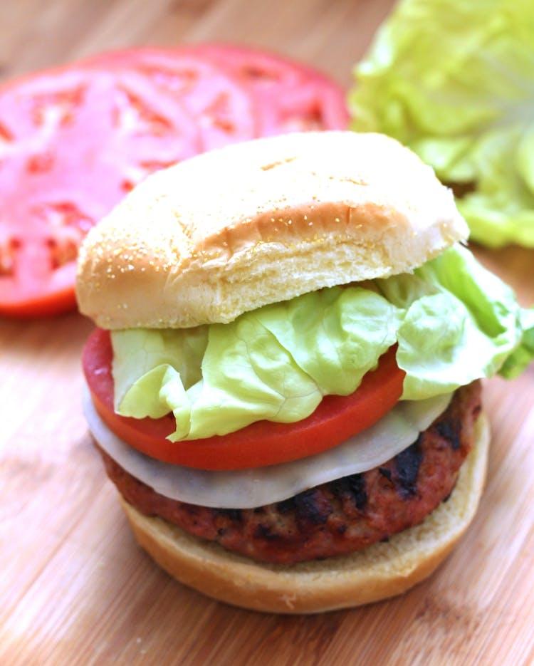 2 Secrets To A Moist Turkey Burger Grilling Inspiration Weber Grills