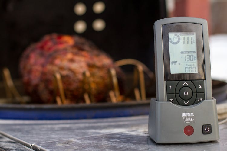 Weber 6741 style dual probe wireless thermometer: bbq guys.