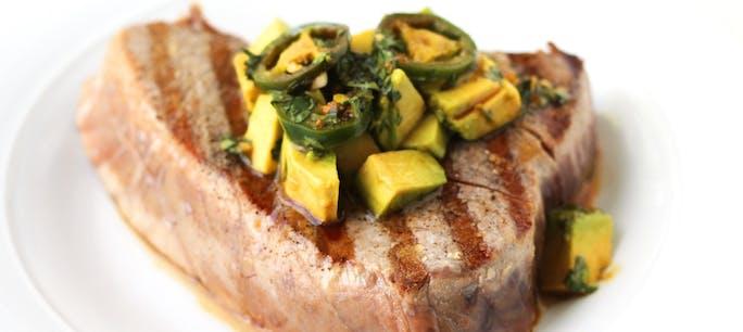 56A2588B49B98  Grilled Tuna Avocado Ginger Soy Featuer Copy