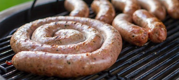 57331F253Fdbc  Sausage On The  Grill 5 1000