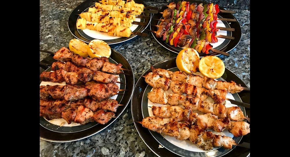 Kabobs On The Grill Grilling Inspiration Weber Grills
