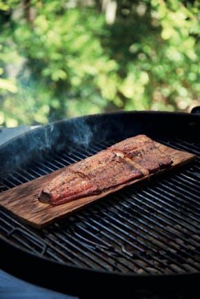 5A4Fe5E7244F5  Cedar  Planked Salmon Copy