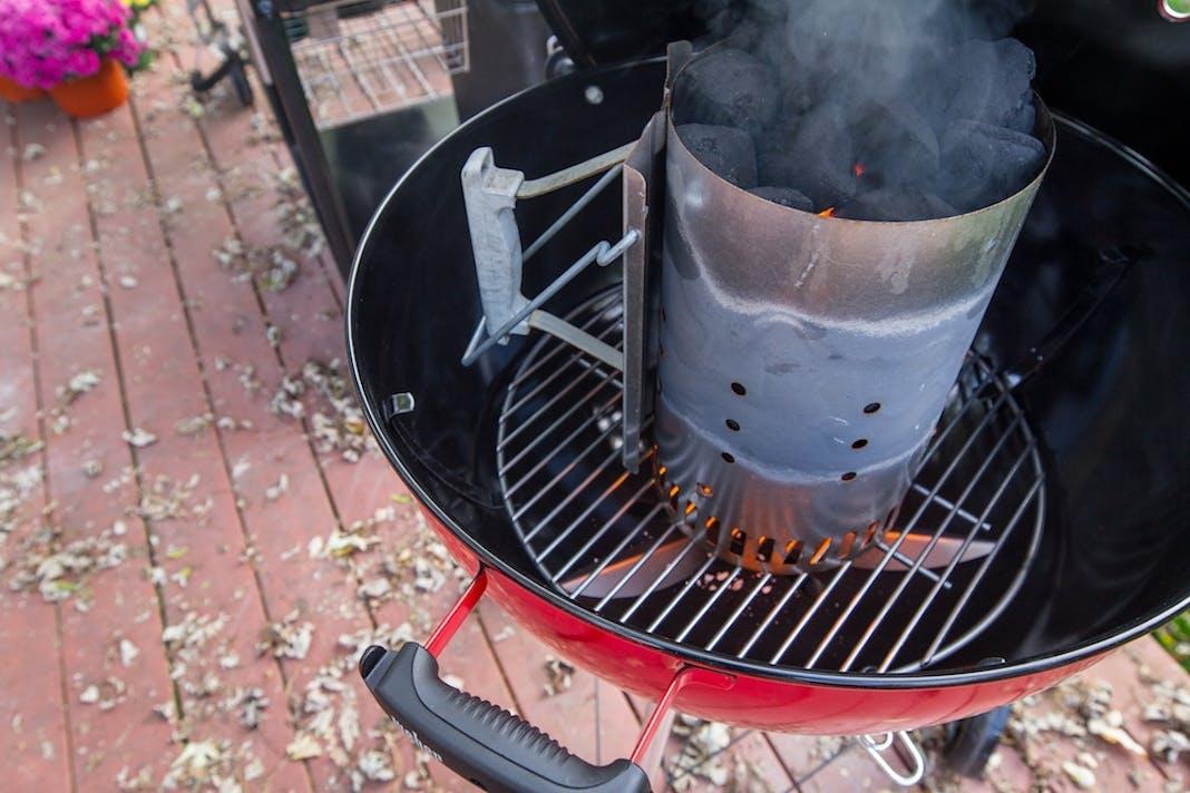 Chimney Starter 101 Burning Questions Weber Grills