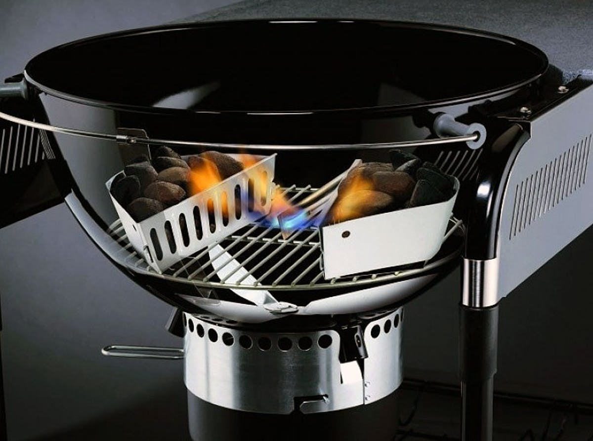 How To Use A Chimney Starter Burning Questions Weber Grills