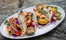 Chiptole Pork And Grilled Pineapple Tacos