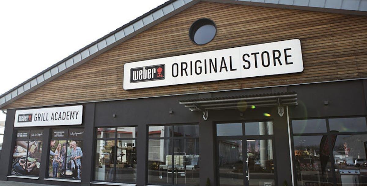 Weber Elektrogrill Outlet : Die weber original stores weber grill original