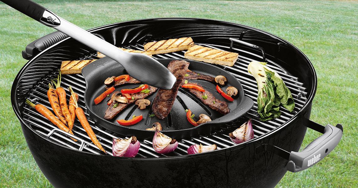 Plancha Gourmet System pour barbecue Weber à prix mini