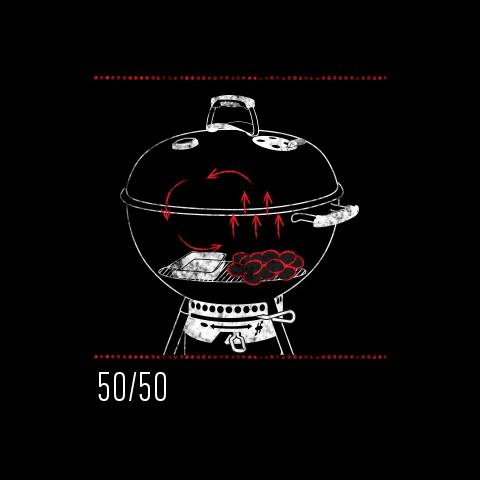 Charcoal 50 50