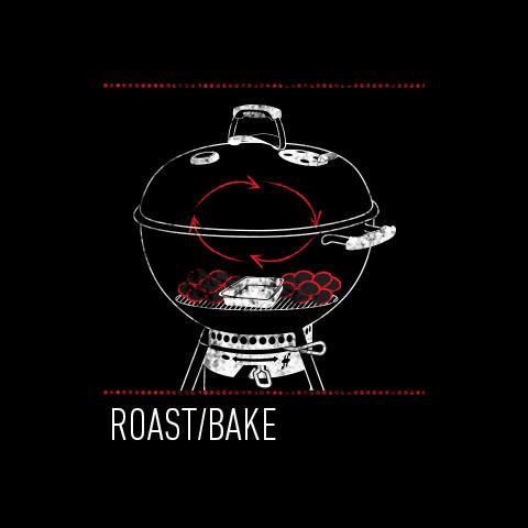 Charcoal Roast Bake