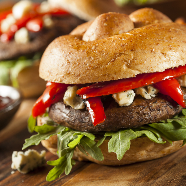 I Stock Portobello Burger 468260853
