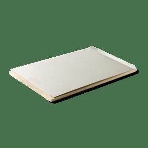 Pizzasten og bageplade – rektangulær 30 x 44 cm.