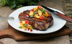 Balsamic Glazed Pork Chops300