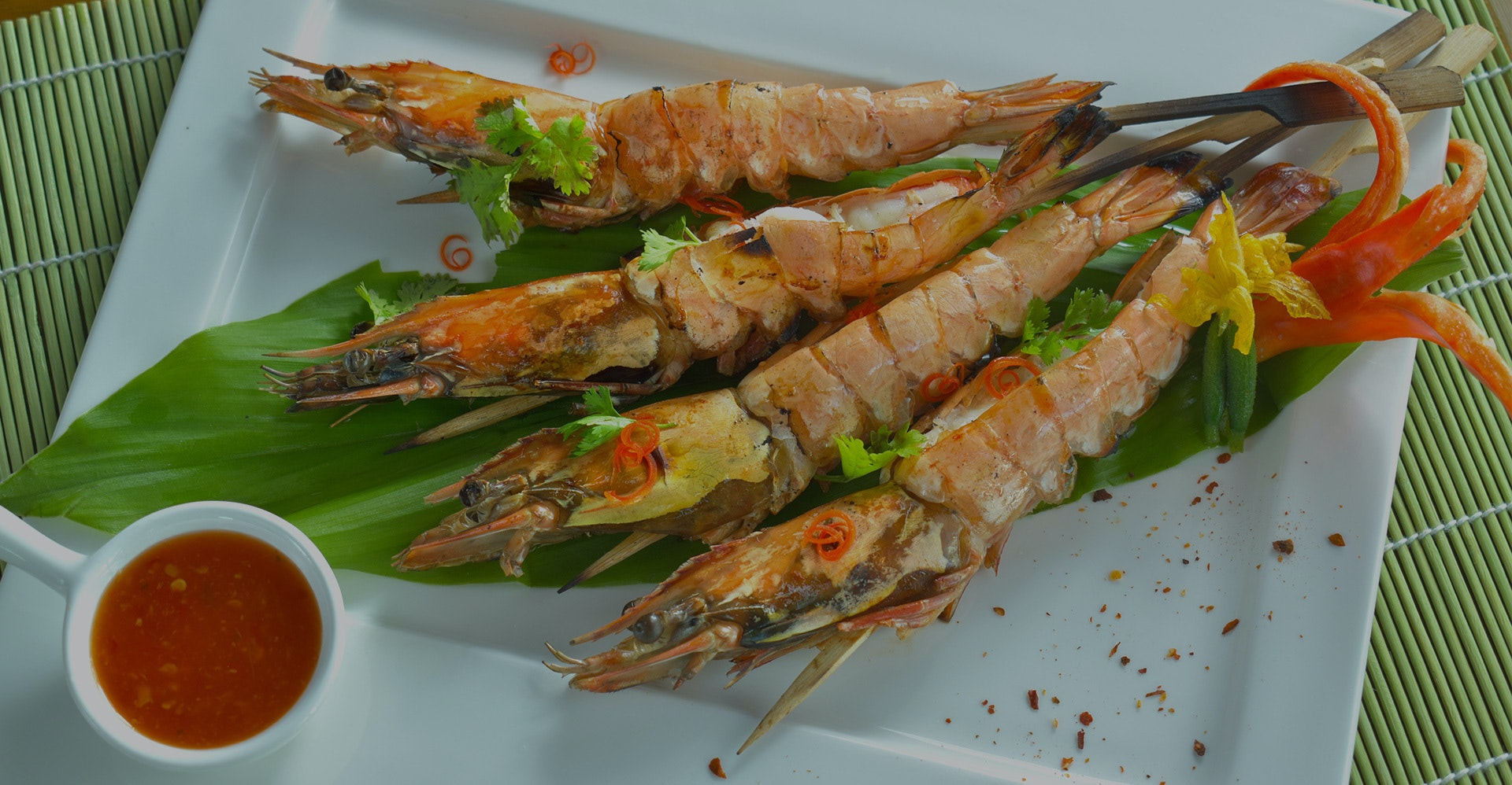 Barbecue King Prawns