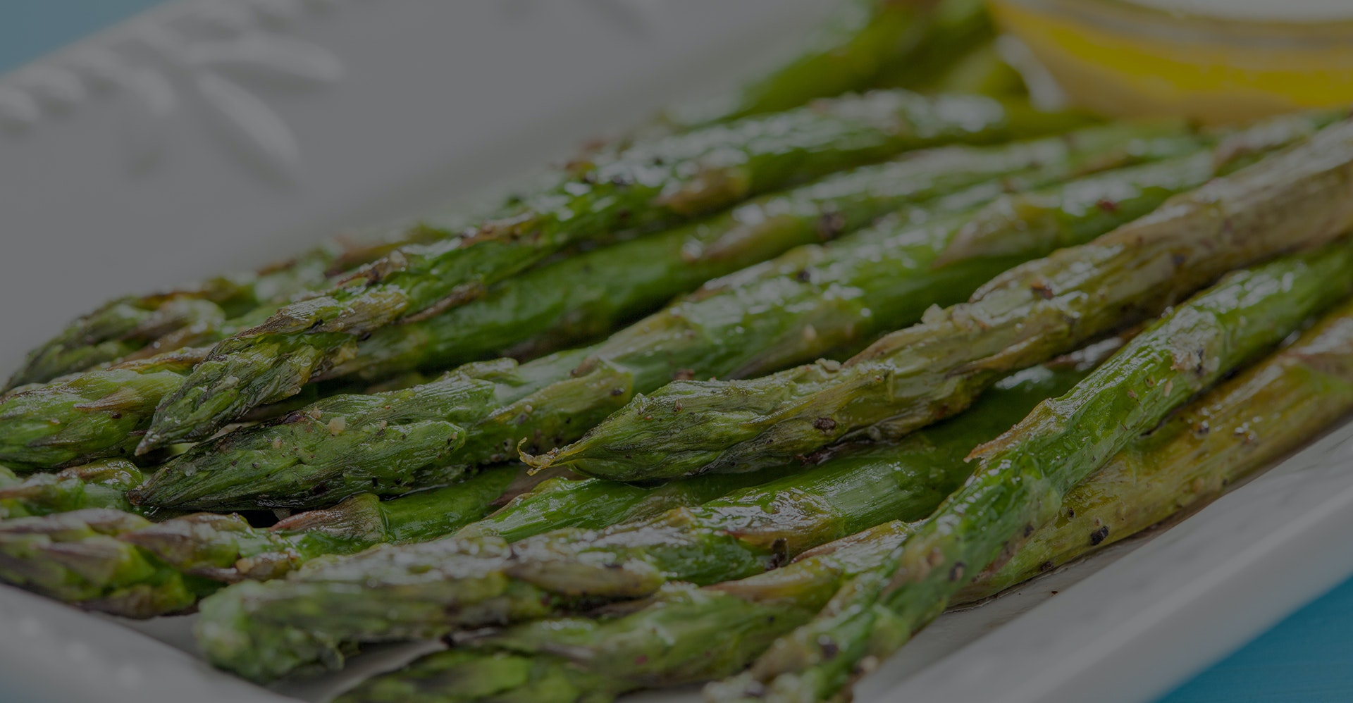 Grilled Asparagus With Feta And Lemon