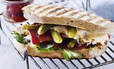 Bresaola  Sandwich With  Parmesan And Gherkins 346X318