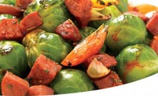Brussel  Sprouts With  Chorizo 346X318