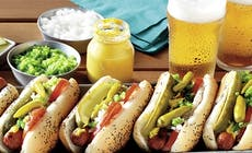 Chicago  Style  Hot  Dogs 400X400